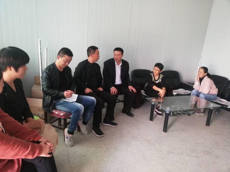 著名企业家贺新义到母校孟庄小学捐资助学